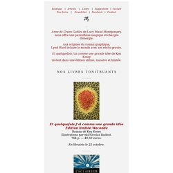 Les livres tonitruants de Monsieur Toussaint Louverture