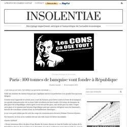Je l'ai oubliée, celle-là ! Paris : 100 tonnes de banquise vont fondre à République