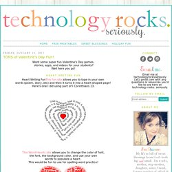 TONS of Valentine's Day Fun!
