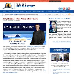 Tony Robbins – Date With Destiny Review