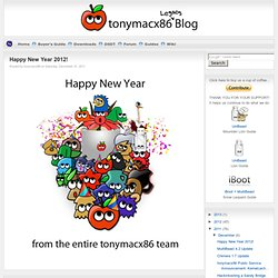 tonymacx86 Blog