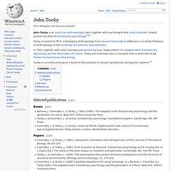 John Tooby