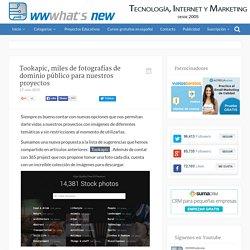 Tookapic, miles de fotografías de dominio público para nuestros proyectos