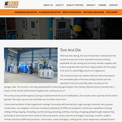 Tool And Die - Ibex Engineering