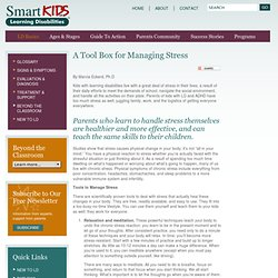 A Tool Box for Managing Stress