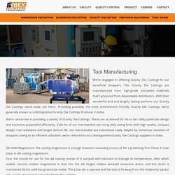 Tool Manufacturing - Ibex Engineering
