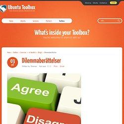 Ubuntu Toolbox - Dilemmaberättelser