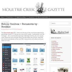 Mobile Toolbox – Documents by Readdle