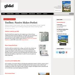 Toolbox: Passive Makes Perfect