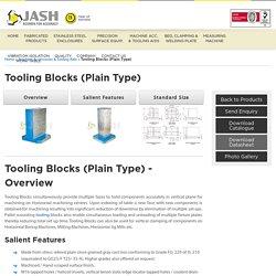 Cast Iron Tooling Blocks