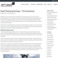 Rapid Tooling technology – The Importance