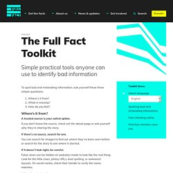 Toolkit Full Fact