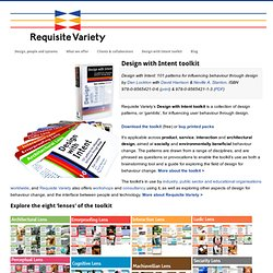Design with Intent toolkit