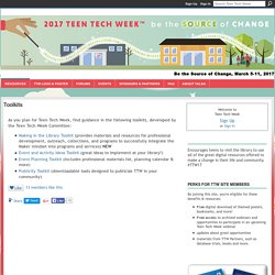 Toolkits - Teen Tech Week