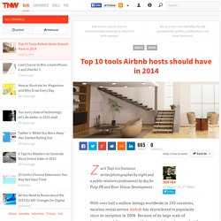Top 10 Tools Airbnb Hosts Should Have in 2014