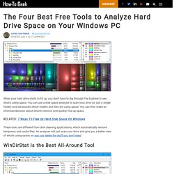 The 10 Best Free Tools to Analyze Hard Drive Space on Your Windows PC