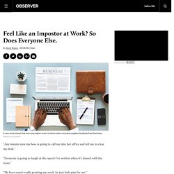 3 Tools to Beat Impostor Syndrome at Work