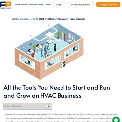 All the Tools You Need to Start and Run and Grow an HVAC Business - Fieldpromax