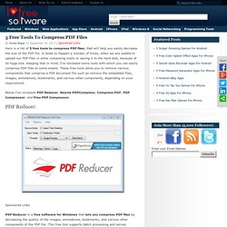 I Love Free Software5 Free Tools To Compress PDF Files