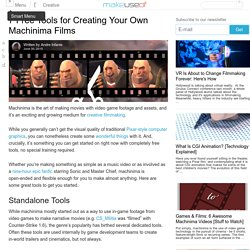 7 Free Tools for Creating Your Own Machinima Films