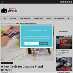 6 Best Tools for Creating Visual Content