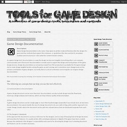Game Design Documentation