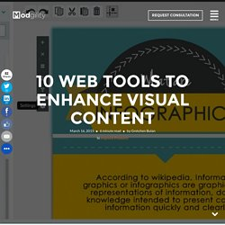 10 Web Tools to Enhance Visual Content