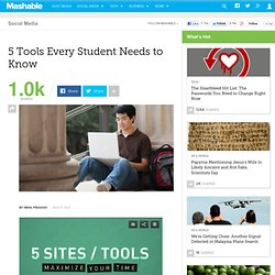 5 Tools Every Student Needs to Know