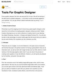 Tools For Graphic Designer