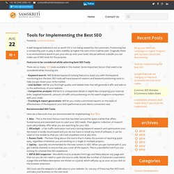 Tools for Implementing the Best SEO