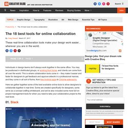 The 18 best tools for online collaboration