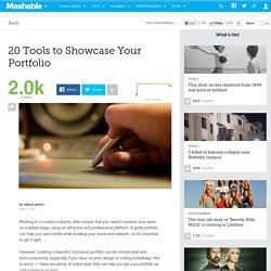 20 Tools to Showcase Your Portfolio