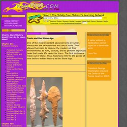 Tools And The Stone Age - World History For Kids