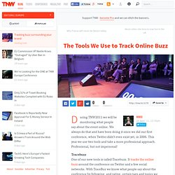 The Tools We Use to Track Online Buzz - TNW Europe