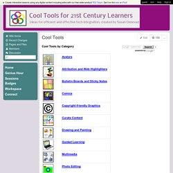 CoolToolsfor21stCenturyLearners - Cool Tools