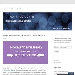 Google Makes TeleStory & Toontastic Free for Everyone