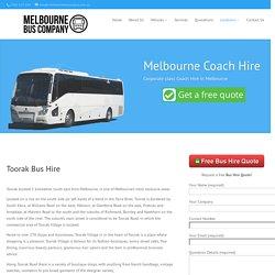 Toorak Bus Hire - Melbourne Bus Company