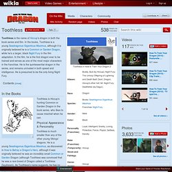 Toothless - How to Train Your Dragon Wiki