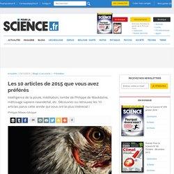 top 10 2015 pour la science