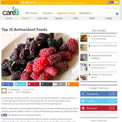 Top 10 Antioxidant Foods