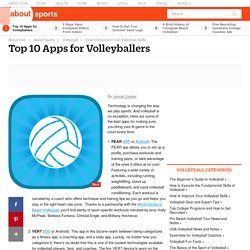 Top 10 Apps for Volleyballers