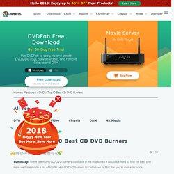 Top 10 Best CD DVD Burners