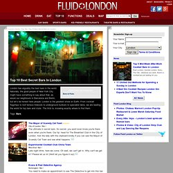Hidden Gems: Top 10 Secret Bars & Clubs