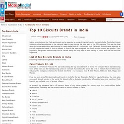 Top 10 Biscuit Brands in India