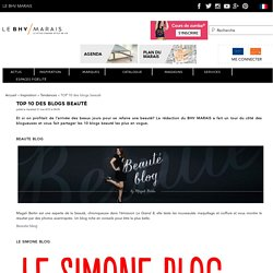 TOP 10 des blogs beauté - BHV