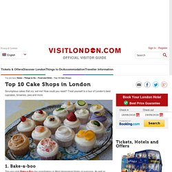 Top 10 Cake Shops in London