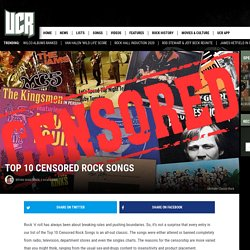 Top 10 Censored Rock Songs