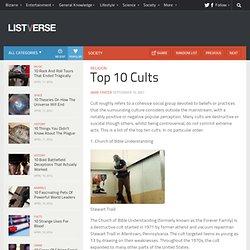 Top 10 Cults