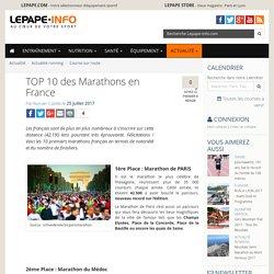 TOP 10 des Marathons en France