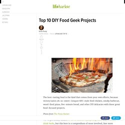 Top 10 DIY Food Geek Projects
